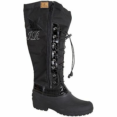 Imperial Riding Thermoreitstiefel Love Never Falls RV+Kordelzug Krokolederdetail