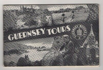 Guernsey Motors Tour Guide Book, 36 Pages + Lots Of Photos
