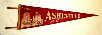 Asheville North Carolina Souvenir Travel Pennant In The Land Of The Sky msc6