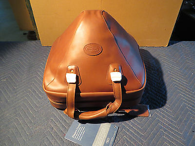 Reunion Blues Clearance Sale, Brown Leather French Horn Screw Bell Bag 565-15-34