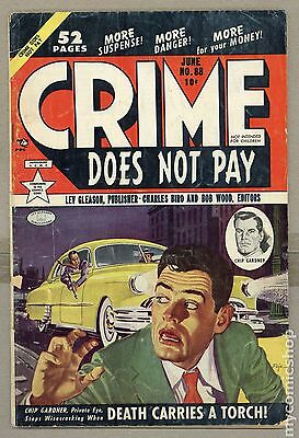 Crime Does Not Pay (1942) #88 GD 2.0