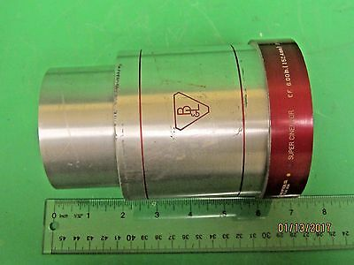 "Bausch and Lomb 6.00"" Super Cinephor 35/70mm Projector Lens 4 inch Daimeter"