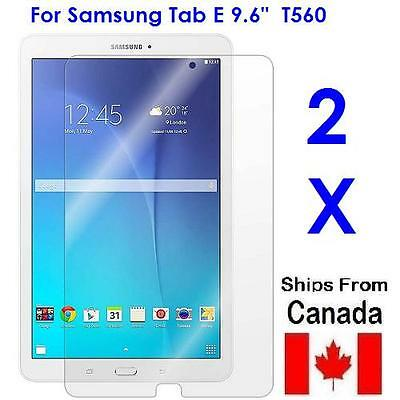 "2X Clear Screen Protector For Samsung Tab E 9.6"" SM-T560, SM-T561"