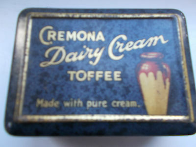 Vintage Cremona Dairy Cream Toffee Tin