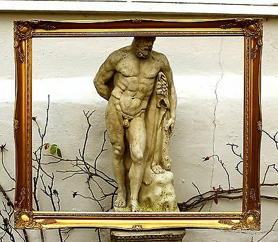 Fine Large Mid C20th Highly Ornate Rococo  Gilt Gesso Frame