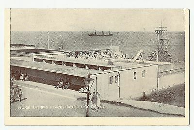 Old Postcard 'Pickie Bathing Place' Bangor Co Down