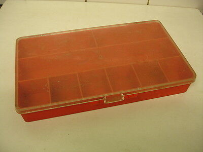 Vintage Swedish Fishing Tackle Box - 1970s