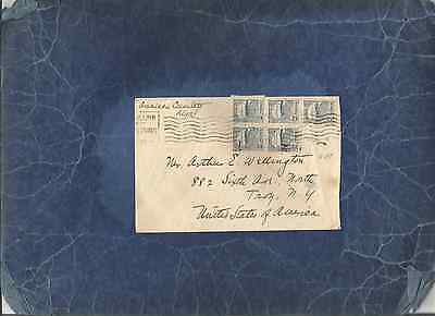 "Estonia-Us Diplomatic Mail,rare 1922 ""consulate In Reval"" Cover To Us"