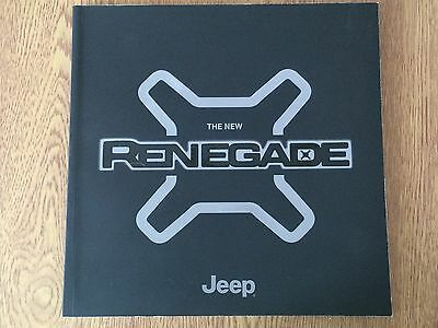 JEEP - The New Renegade Sales Brochure 8/2015.