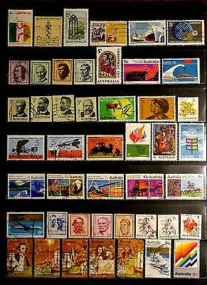 Australia: 1960's To 1970's Stamp Collection