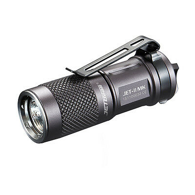 Mini LED Flashlight Jetbeam II MK 510LM CREE XP-L EDC Twist 16340/CR123 Torch
