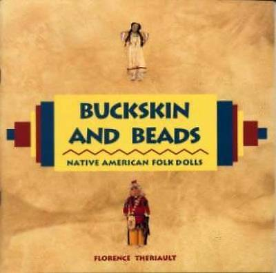 Buckskin Beads Native American Folk Doll book Indian