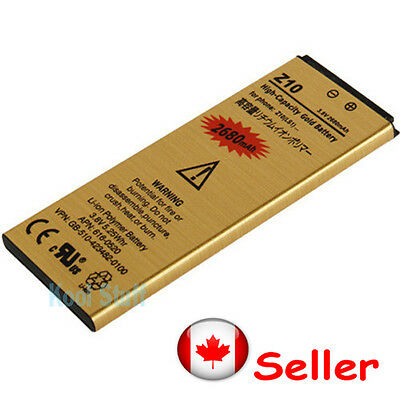 Gold High Capacity L-S1 LS1 battery 2680mAh for BB Z10