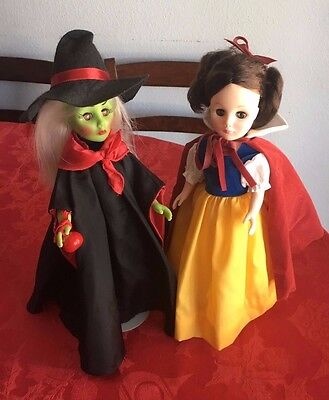 """Effanbee Storybook Dolls, Snow White And The Witch,1976,11"""""""