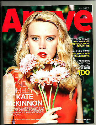ARRIVE MAGAZINE-SUMMER/FALL  2016-KATE McKINNON-SATURDAY NIGHT LIVE-GHOSTBUSTERS
