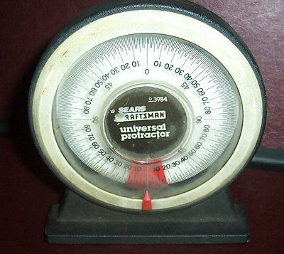 Craftsman 93984 universal Protractor w/Magnetic Base & Pitch Angle Calculator