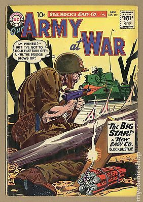 Our Army at War (1952) #102 GD- 1.8