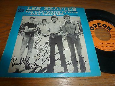 Beatles..we Can Work It Out - Day Tripper..rare French 1St Issue Odeon So 10133