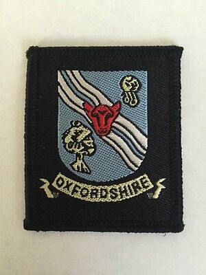 Oxfordshire County UK Scout cloth badge
