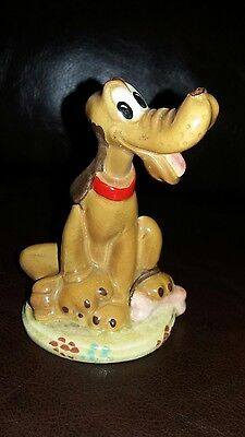 Beswick Disney Character Pluto Style 1 Model 1280 Gold Backstamp
