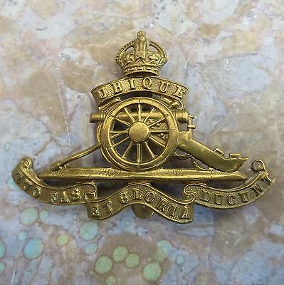 The Royal Regiment of Artillery British Army/Military Hat/Cap Badge