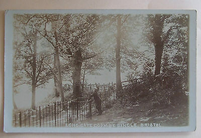 RP Postcard POSTED 1906 ECHO GATE COOMBE DINGLE BRISTOL