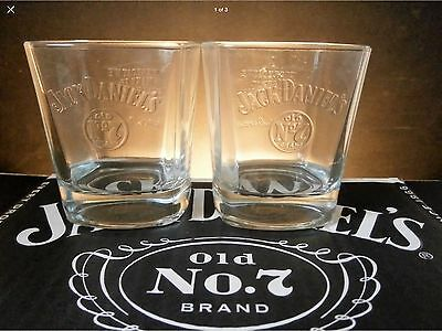 Pair Of Jack Daniels Birthday  Glasses