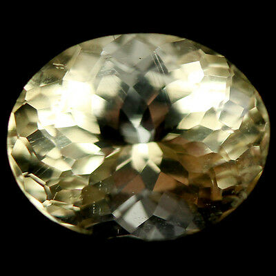 2.34 Ct Aaa! Natural! Yellow Madagascar Scapolite Oval