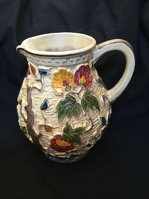H J Wood Indian Tree Large Jug