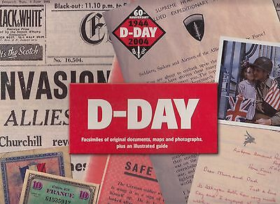 D Day  Pack. Facsimiles of Original documents, Maps and Photographs, Plus an Il