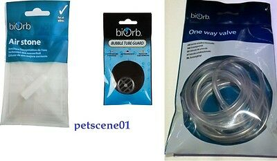 REEF ONE BIORB AIRSTONE or ONE WAY VALVE or BUBBLE TUBE GUARD
