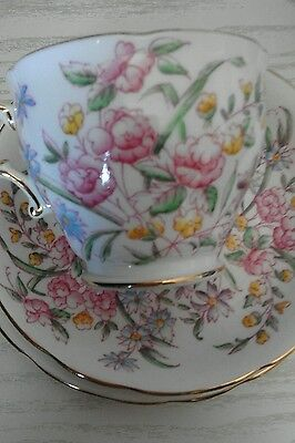 Vintage Hammersley Trio Cup Saucer & Side Plate