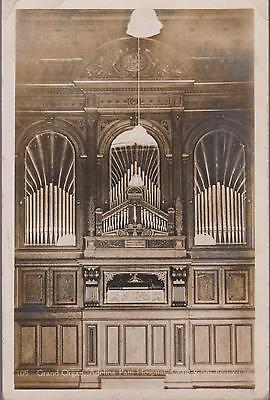 Vintage Rp Card Of The Grand Organ Adelina Patti Hospital Craig-Y Nos