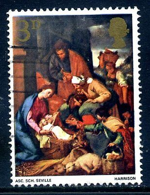 1967 Christmas 3d phosphor omitted (used)