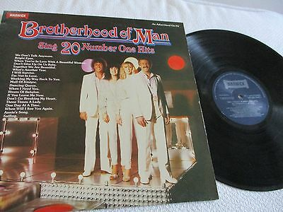 Brotherhood Of Man - 20 Number 1 Hits  - Vinyl Lp 33Rpm - 1980