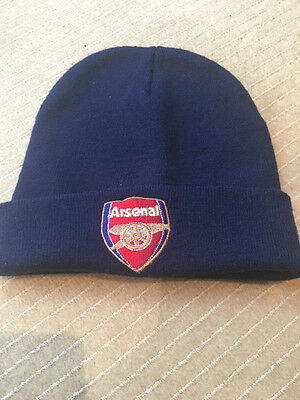 Official Arsenal Football Club Beanie Hat  -  **one Size / Must Look**