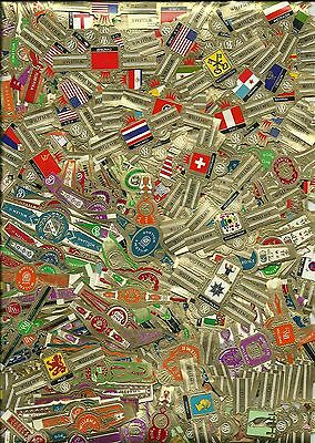 Vitolas - cigar bands: 500 CIGAR BANDS - WILLEM II