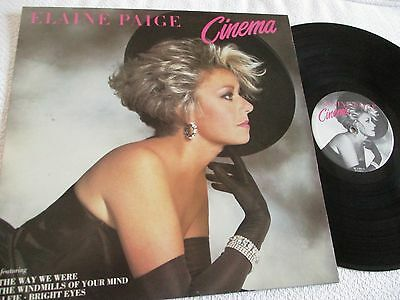 Elaine Paige - Cinema - Vinyl Lp 33 Rpm - 1984