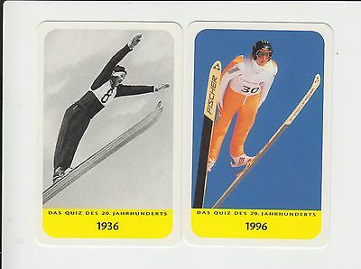 Skiing : Ski Jumping : German card group