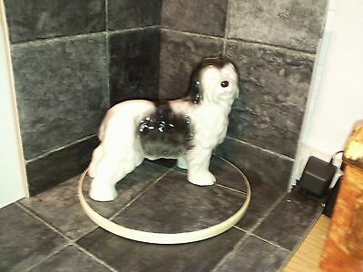 """LARGE - OLD ENGLISH SHEEPDOG - 8.5"""" long x 8"""" high - EXCELLENT"""