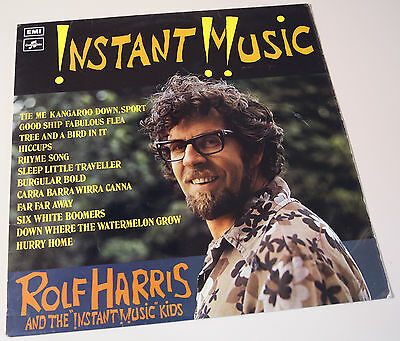Instant Music Rolf Harris 1971 Vinyl Lp Record