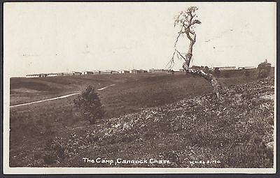 The Camp,  Cannock Chase  Postcard  Unposted    (208)