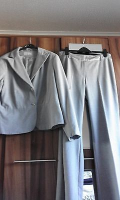 Ladies 'George Collection' Grey Trouser Suit - Size 12