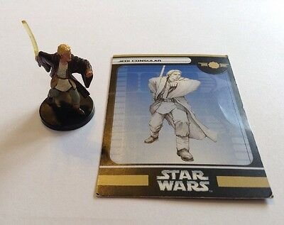 Jedi Consular 2/60 Star Wars Miniatures Champions of the Force Old Republic
