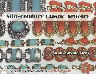 Vintage Mid-Century Plastic Jewelry Collector Guide inc Necklaces Bracelets More