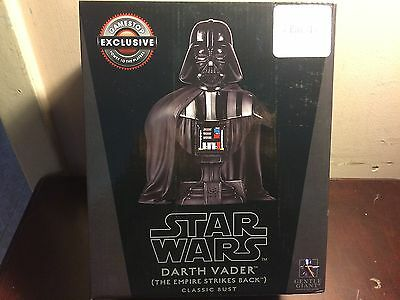 Star Wars Exclusive Darth Vader Classic Bust Gentle Giant 5000 Made L@@k