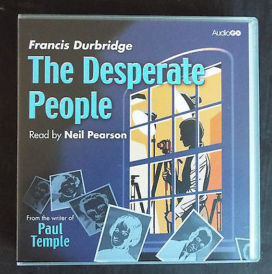 'The Desperate people' Francis Durbridge Audio CDs, read by Neil Pearson