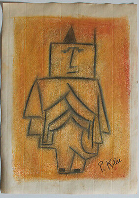 Pencil drawing signed PAUL KLEE