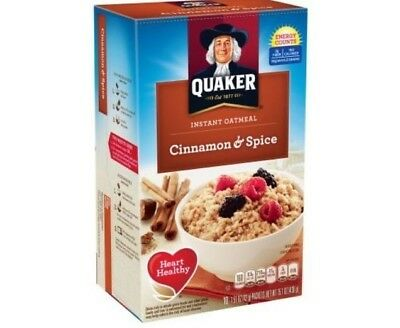 Quaker Oatmeal Cinnamon Spice Instant Hot Cereal