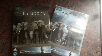 Sir David Attenborough Signed Bbc Dvd Life Story W Coa Ideal Xmas Gift Wildlife